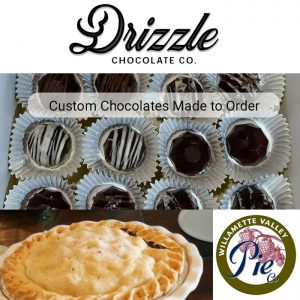 drizzle and willamette valley pie