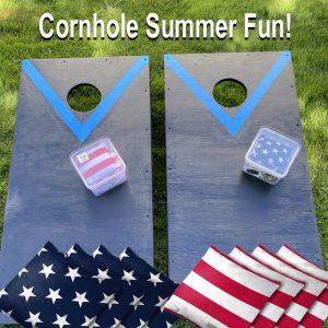 Custom cornhole game