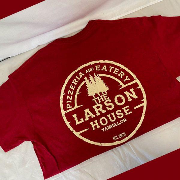 larsen's tshirt