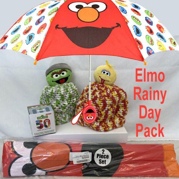sesame street rain set