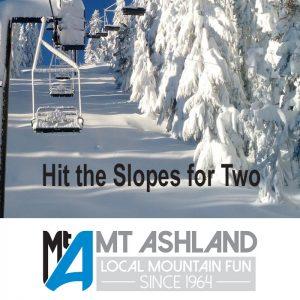 skiing on mt ashland